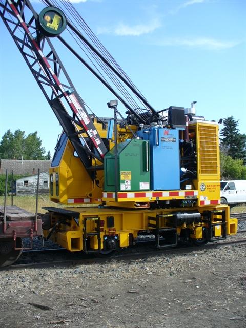 Nordco 18 Ton Rail Crane